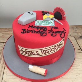 Horrible Histories Cake